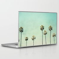 trees Laptop & iPad Skins featuring Palm Trees  by Bree Madden