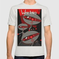 Always Watching - Wezteka Union Mens Fitted Tee Silver SMALL