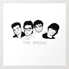 The Smiths Art Print