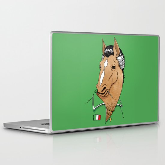 Italian Stallion Laptop & iPad Skin
