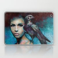 Lady with the Falcon Laptop & iPad Skin