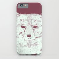 iPhone & iPod Case featuring Grumpy Bear by Alice Rebecca Potter