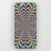 Blue Red And Yellow Rose… iPhone & iPod Skin