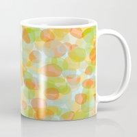 Pebbles Orange Mug