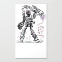 Megatron Contest Weirdo Canvas Print