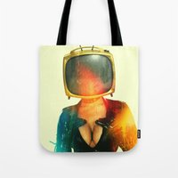 SEX ON TV - GOLDEN PUSSYCAT by ZZGLAM Tote Bag