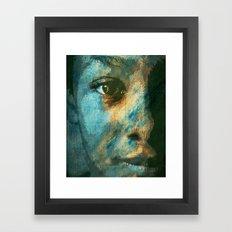 Desert People Framed Art Print