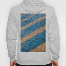 Yellow Lines at the ground Hoody