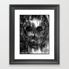 The Devil You Know Framed Art Print