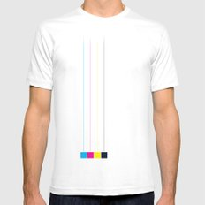 hanging cmyk  Mens Fitted Tee SMALL White
