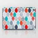 popping leaves iPad Case