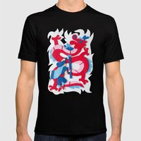 Dragon Slayer Mens Fitted Tee Black SMALL
