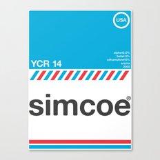 simcoe single hop Canvas Print