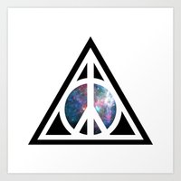 Peace For Wizards Art Print