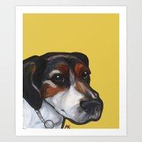Milo The Jack Russell Te… Art Print
