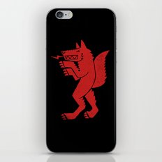WEREWOLF, MAN WOLF iPhone & iPod Skin
