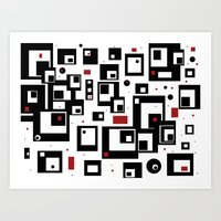 Pattern Party Art Print
