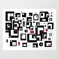 Pattern Party Art Print