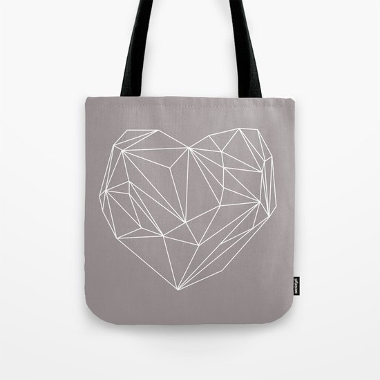 Heart Graphic Tote Bag