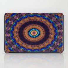 Peacock Pinwheel iPad Case