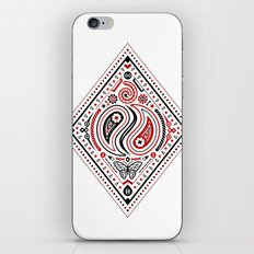 83 Drops - Diamonds (Red & Black) iPhone & iPod Skin