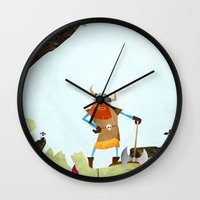Hero Shot Wall Clock