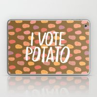 I Vote Potato Laptop & iPad Skin