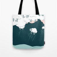 Where Do Good Sheep Go... Tote Bag