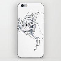 Joel The Vampire Bat iPhone & iPod Skin