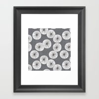 Umbrellas By Friztin Framed Art Print