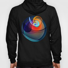 Other dimensions, colourful fractal abstract Hoody