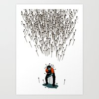 Stop Wasting Arrows And … Art Print