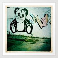 Street Art- Cute Art Print