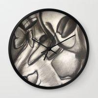 Love Brings Pretty Things Wall Clock