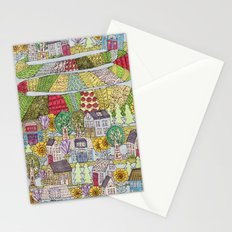neighborhood garden Stationery Cards