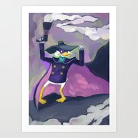 Darkwing Duck Art Print