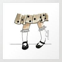Dancin' Shoes Art Print