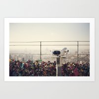 The View: Seoul Art Print
