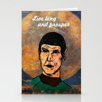 Live Long... Stationery Cards