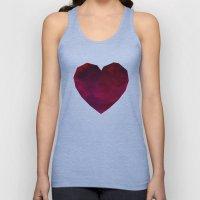 Heart Unisex Tank Top
