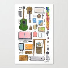 Objects of Adoration Canvas Print