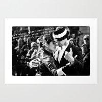Tango Couple - Becquer Art Print