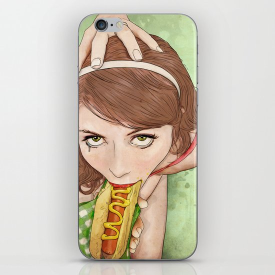 Life's a Picnic, Bring Your Friend iPhone & iPod Skin