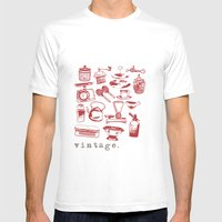 Kitchen Vintage Mens Fitted Tee White SMALL