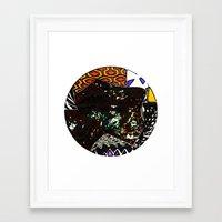 Terrene 3 Framed Art Print
