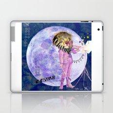 Moonlight Lion Strings  Laptop & iPad Skin