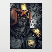 Judgement Canvas Print