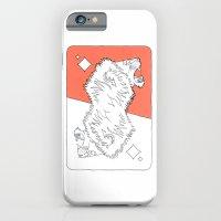 Lion Card iPhone 6 Slim Case