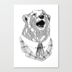 Mr  Bear Canvas Print