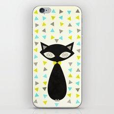 Mid Century Cat  iPhone & iPod Skin